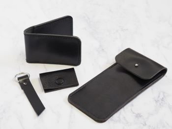 Black Leather Bundle Gift Set 2