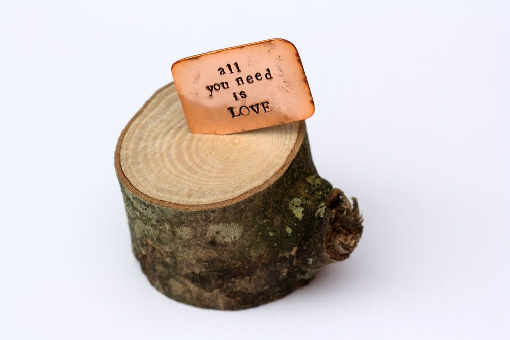Wood & Copper Quotes - 2 for £12
