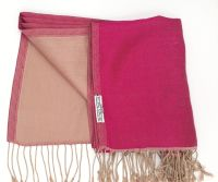 Silken Sophie Fuschia Pink and Gold Reversible
