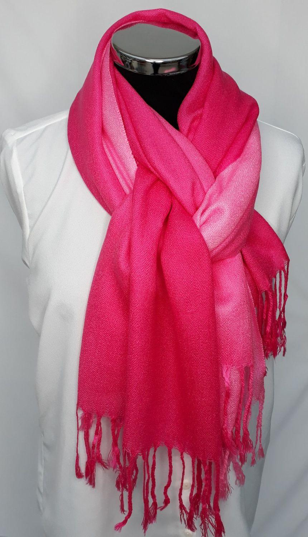 Brilliant Pink Ombre Pash