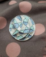 Pashmina Magnet - Blue Abstract
