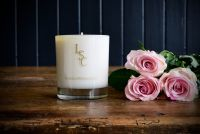 Scottish Rose Candle