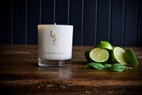 Lime Basil & Mandarin Scented Candle