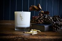 Smoked Oak Scented Candle