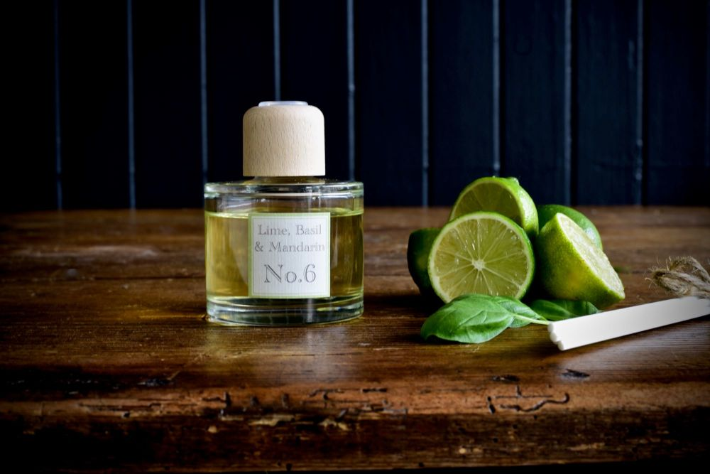 Lime Basil and Mandarin Reed Diffuser 100ml