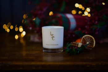 Spiced Orange Scented Soy Wax Candle