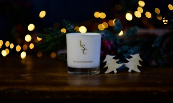 Merry Christmas Scented Soy Wax Candle