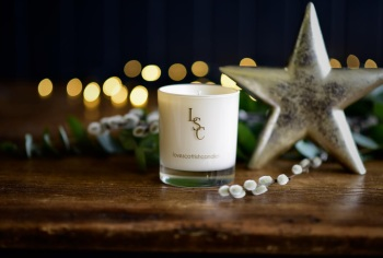 Snowy Night Christmas Scented Candle
