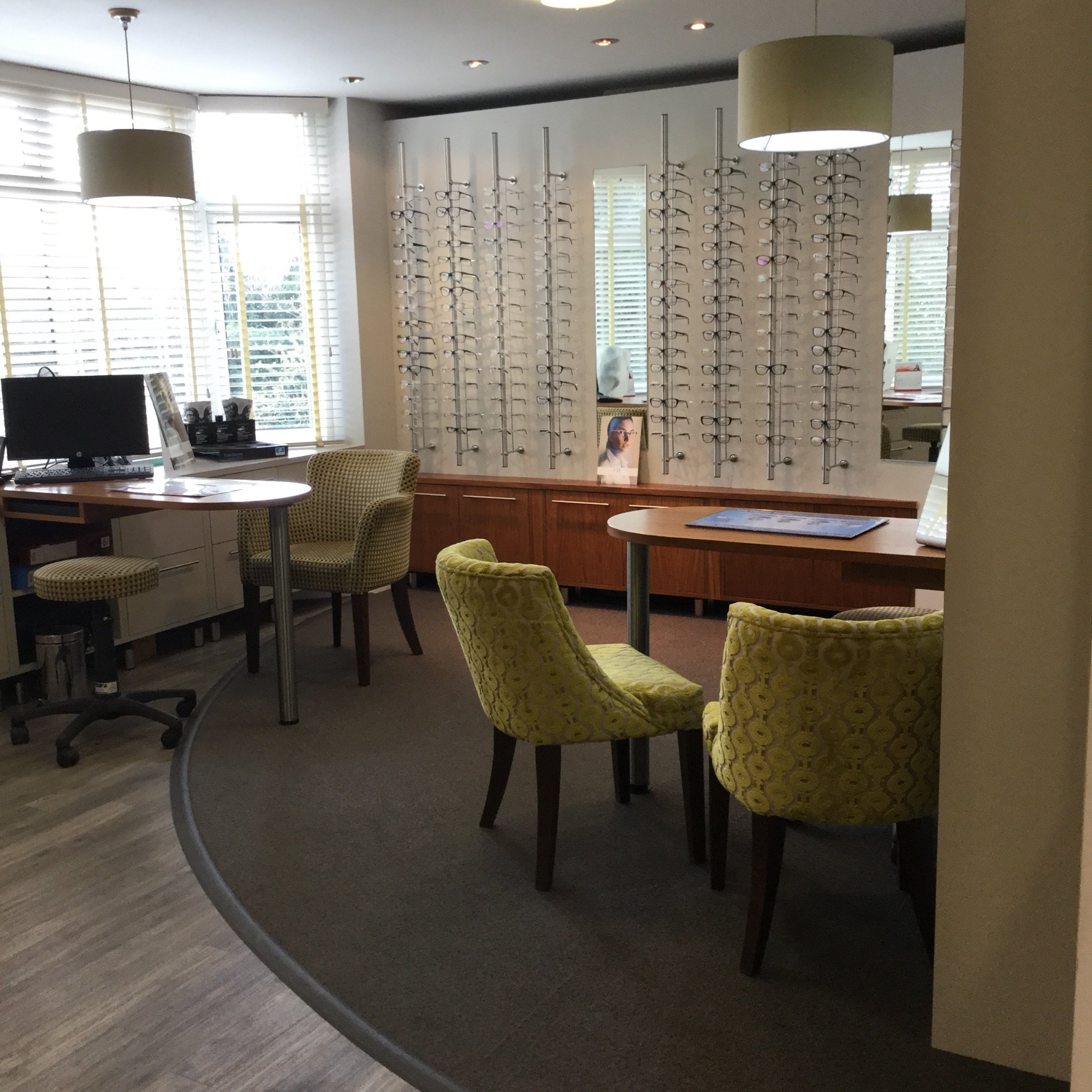 Selecting frames for your specs area