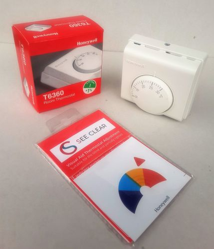 See Clear Thermostat Sticker - Compatible with Honeywell, Wxhuahong, Aristo