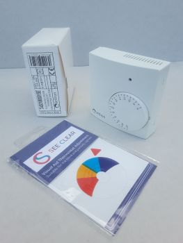 New ProSee Clear Thermostat Sticker - Compatible with Corgi and Seitron