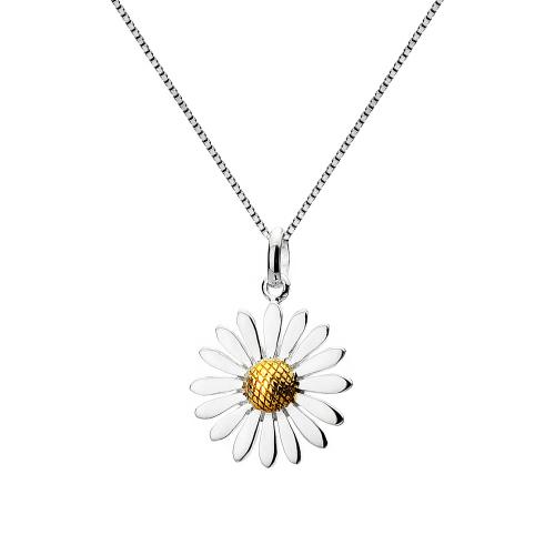 Multi Petal Daisy Necklace