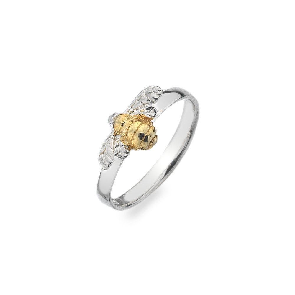 Bumblebee with Brass Body Ring