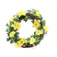 Daffodil Door Wreath
