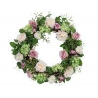 Gisela Graham Rose Door Wreath