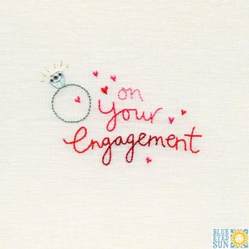 On Your Engagement Card
