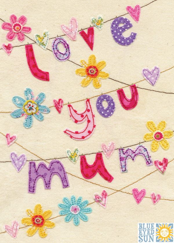 Love You Mum Bunting