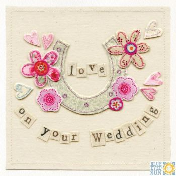 Love On Your Wedding Card