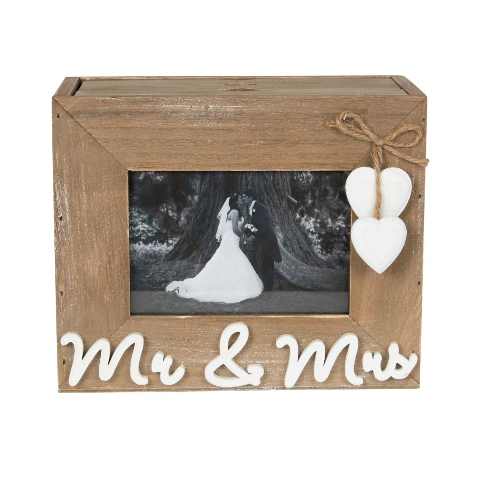 Mr and Mrs Photo Wedding Box