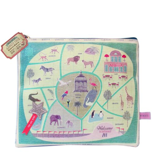 Zoo Design Wash Bag