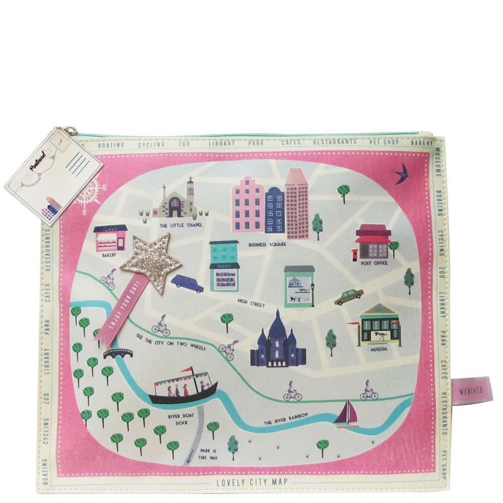 City Design Wash Bag