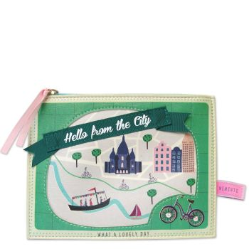 Disaster Designs City Design Make up Bag