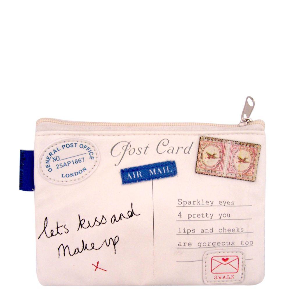 Paper Planes Letter Make up Bag