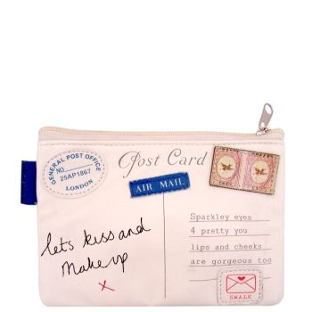 Disaster Designs Paper Planes Letter Make up Bag