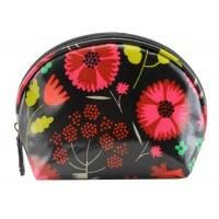 Flower Detail Make up Pouch