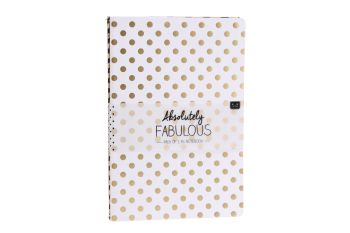 Gold Detail Notebooks Set of 2 - A5
