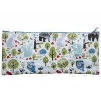 Gisela Graham Woodland Animal Print Pencil Case