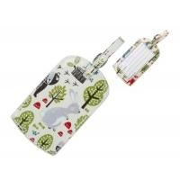 Gisela Graham Woodland Animal Luggage Tag
