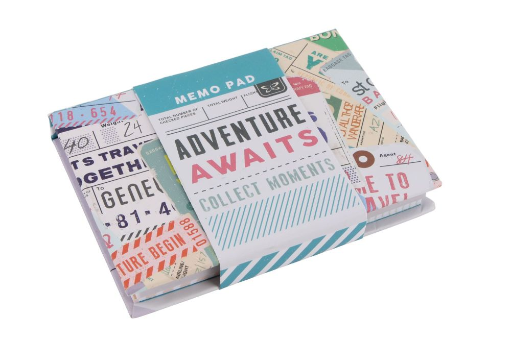 Travel Memo Jotter with sticky notelets