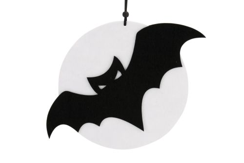 Felt Bat and Moon Hanger