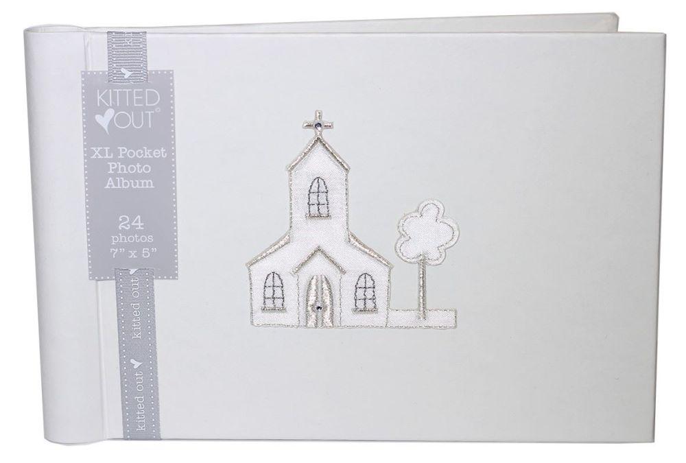 Church Motif Christening Photo Album