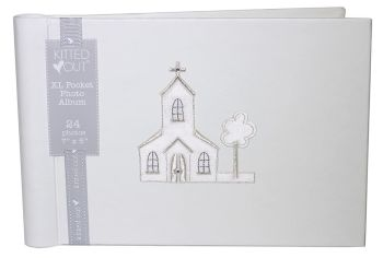 Church Motif Christening Photo Album