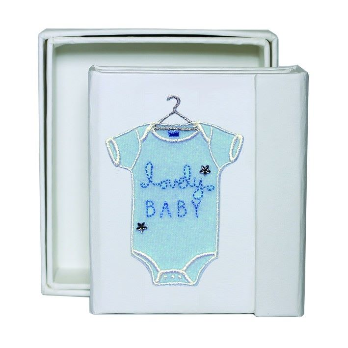 Baby Boy Trio Folding Frame - Boxed