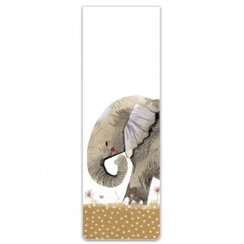Alex Clarke Magnetic Bookmark - Nellie Elephant