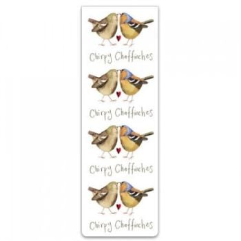 Alex Clarke Magnetic Bookmark - Chirpy Chaffinches
