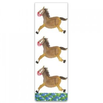 Alex Clarke Magnetic Bookmark - Horses