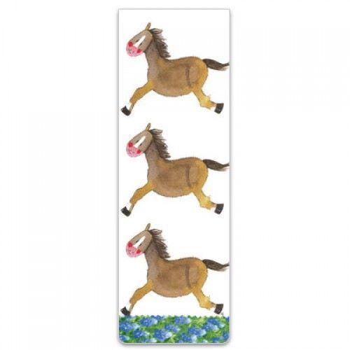 Alex Clarke Magnetic Bookmark - Horses