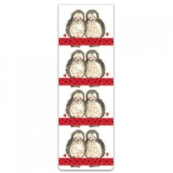 Alex Clarke Magnetic Bookmark - Owls