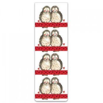 Alex Clarke Magnetic Bookmark - Owls
