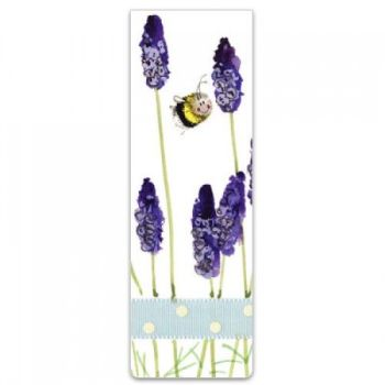 Alex Clarke Magnetic Bookmark - Bee with Lavender