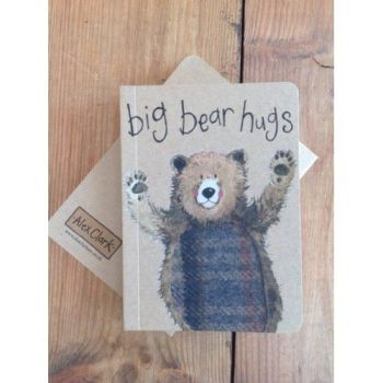 Alex Clarke Kraft Notebook -  Bear Hugs