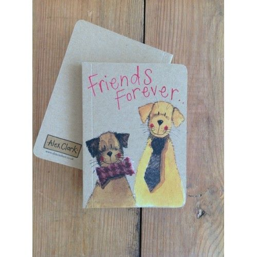 Alex Clarke Magnetic Bookmark - Friends Forever