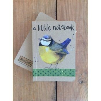 Alex Clarke Kraft Notebook - A Little Notebook - Bluebird