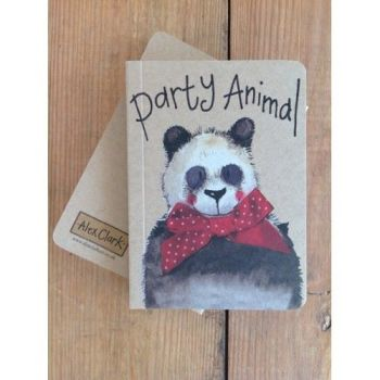 Alex Clarke Kraft Notebook - Party Animal