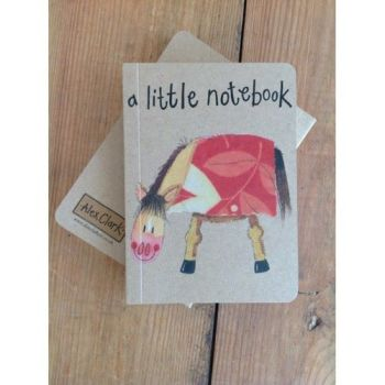 Alex Clarke Kraft Notebook - A Little Notebook - Horse