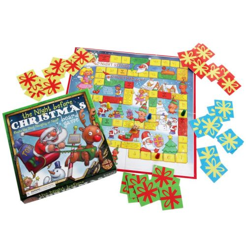 The Night Before Christmas Board Game